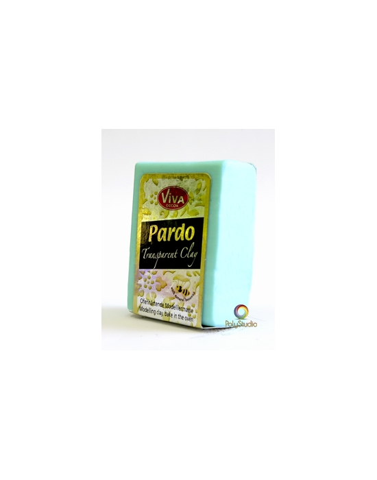 PARDO Transparent-clay 56 g (2 oz) Aqua
