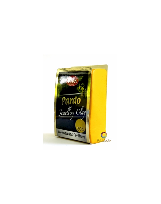 PARDO Jewelry-clay 56 g (2 oz) Yellow Aventurine