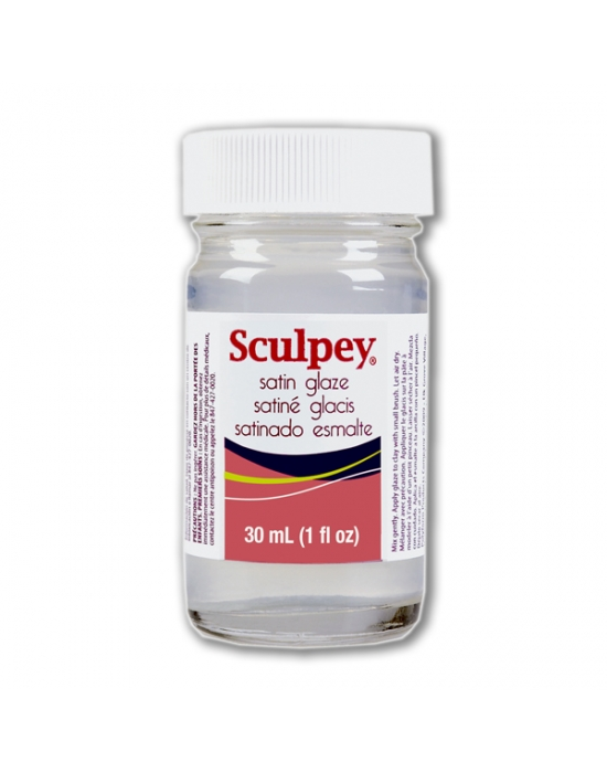 Sculpey Satin varnish 1 fl oz (30 ml)