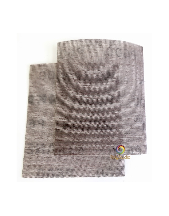 2 Abrasifs ABRANET grain 600
