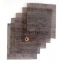 5 Abrasifs ABRANET grains 400 500 600 800 1000