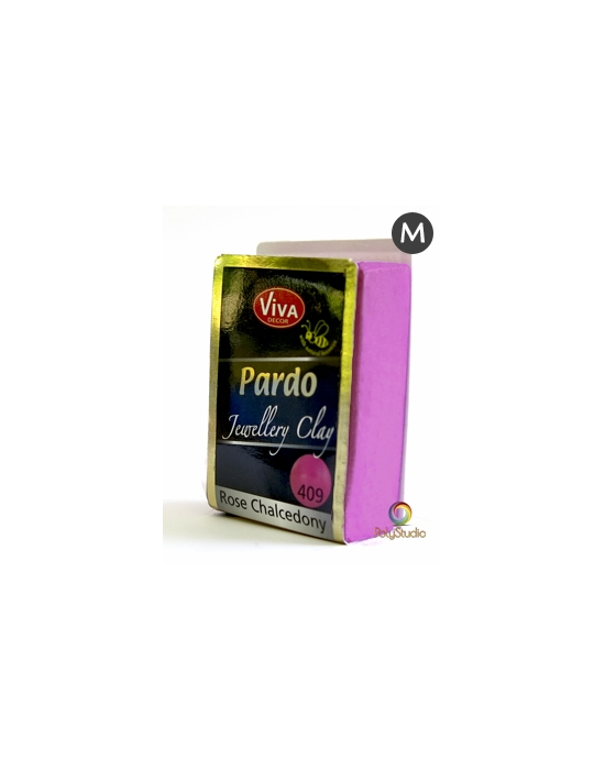 PARDO Jewelry-clay 56 g Chalcédoine rose