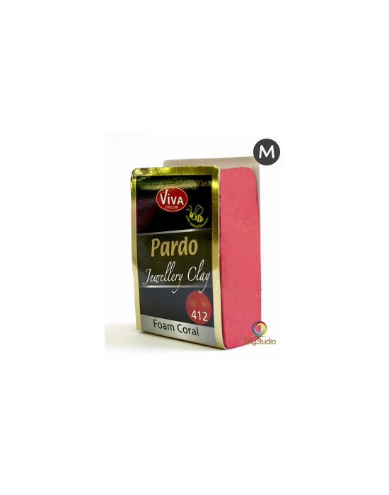 PARDO Jewelry-clay 56 g (2 oz) Coral foam