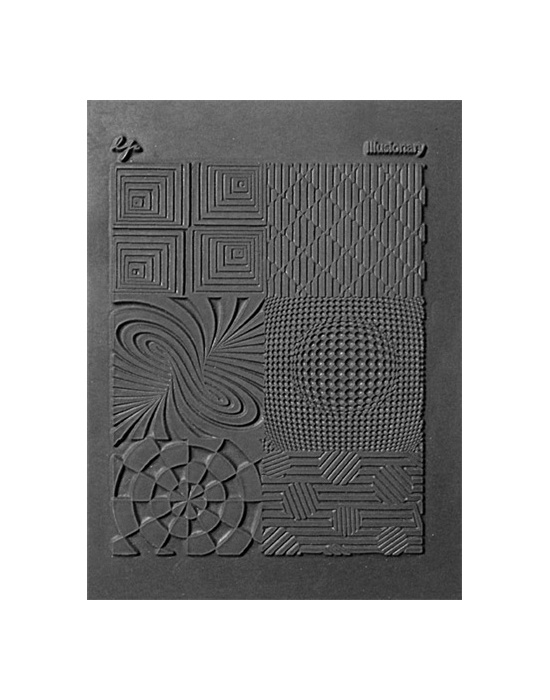 L. Pavelka Texture stamp Illusionary