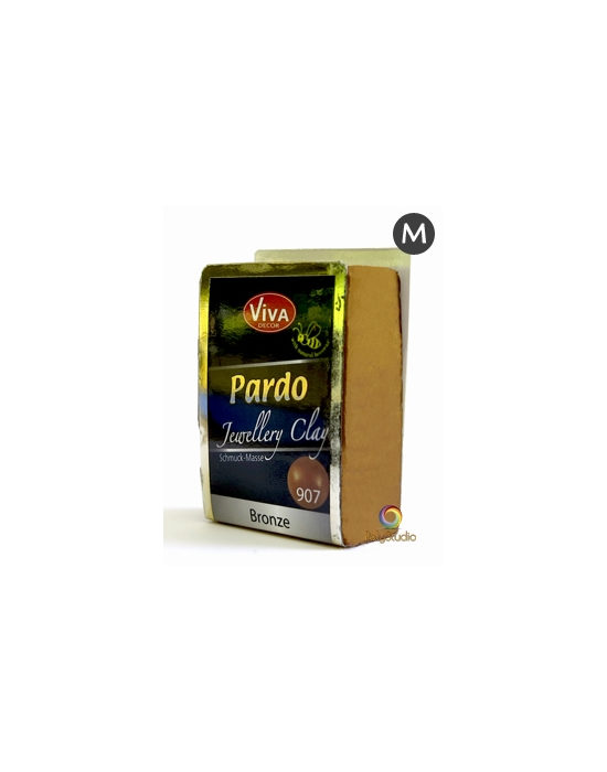 PARDO Jewelry-clay 56 g (2 oz) Metallic Bronze