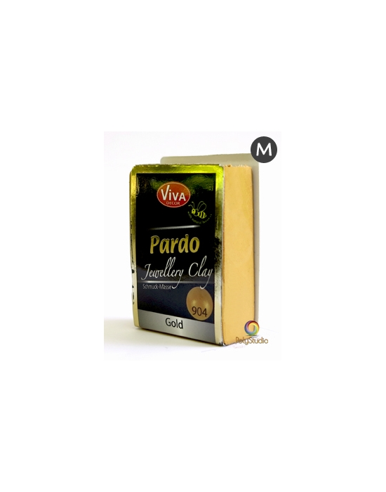 PARDO Jewelry-clay 56 g (2 oz) Metallic Gold
