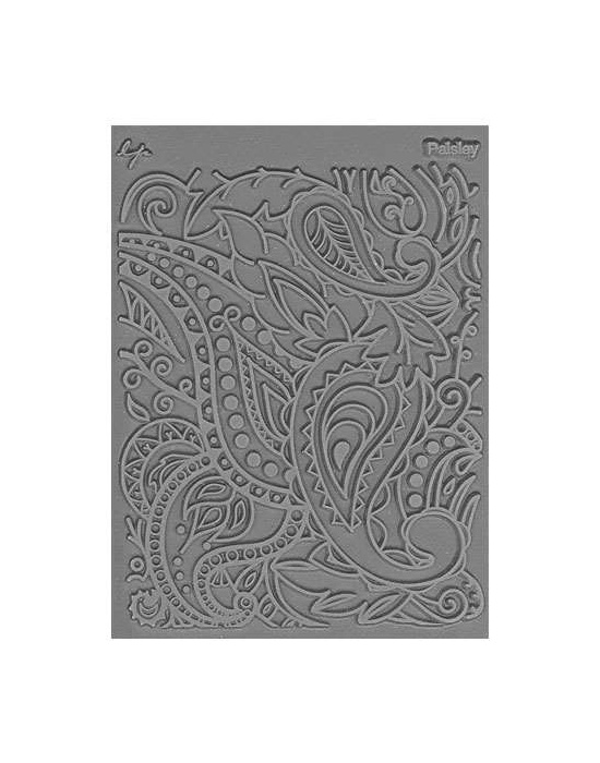 L. Pavelka Texture stamp Paisley