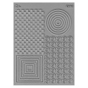 L. Pavelka Texture stamp OpArt