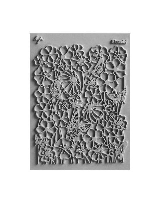 L. Pavelka Texture stamp Bloomin'