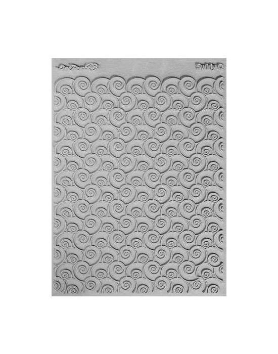 L. Pavelka Texture stamp Swirly Q
