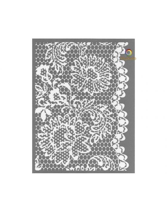 Graine Créative silk screen Lace