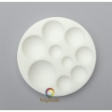 Silicon bakeable mold round Cabochons