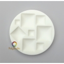 Silicon bakeable mold square Cabochons