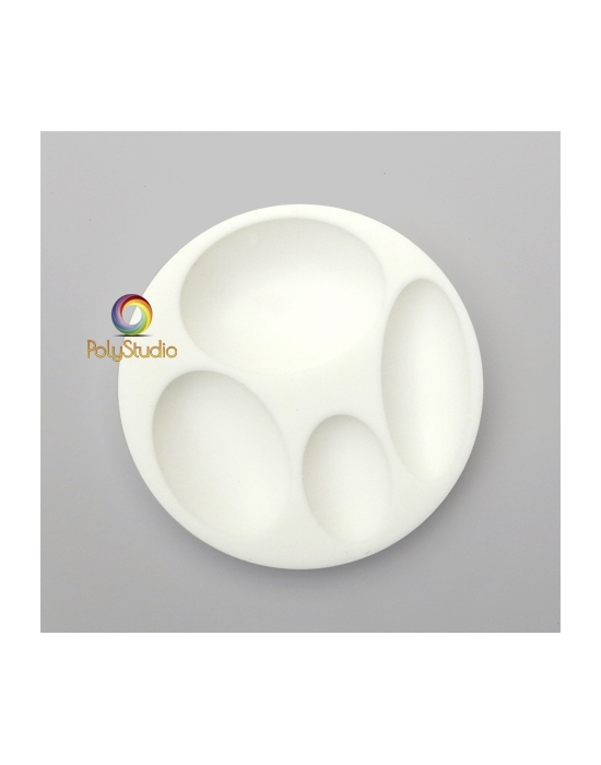 Silicon bakeable mold oval Cabochons