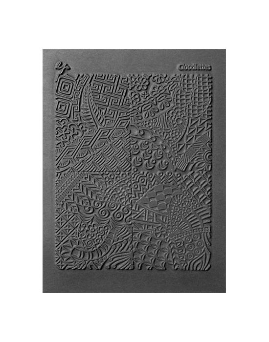 L. Pavelka Texture stamp Cloodettes