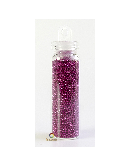 Microbeads Metallic Purple