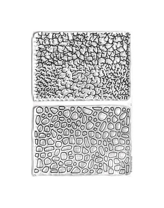 M. Muir texture stamps Beach