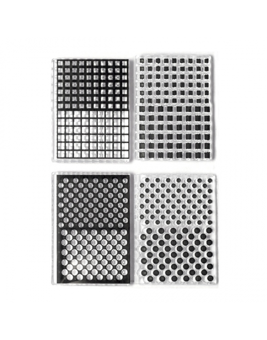 M. Muir texture stamps Checks &Dots