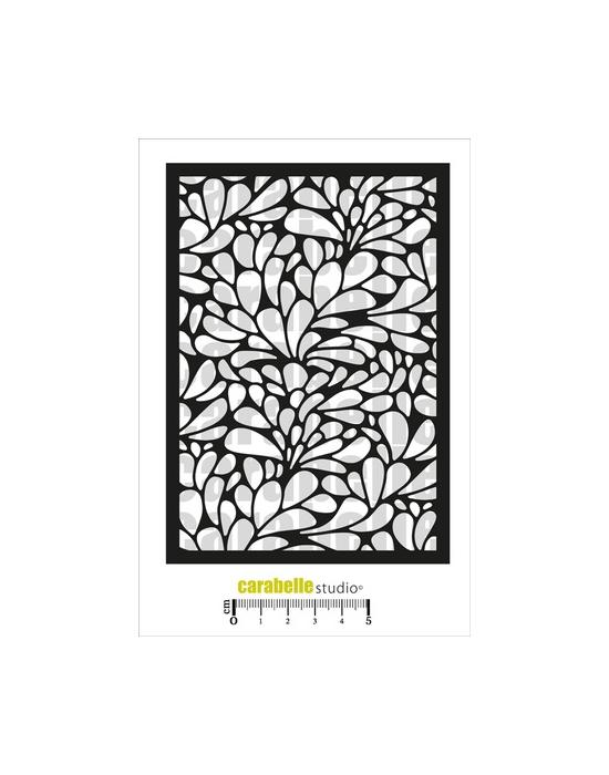 A petal bed Stencil Carabelle