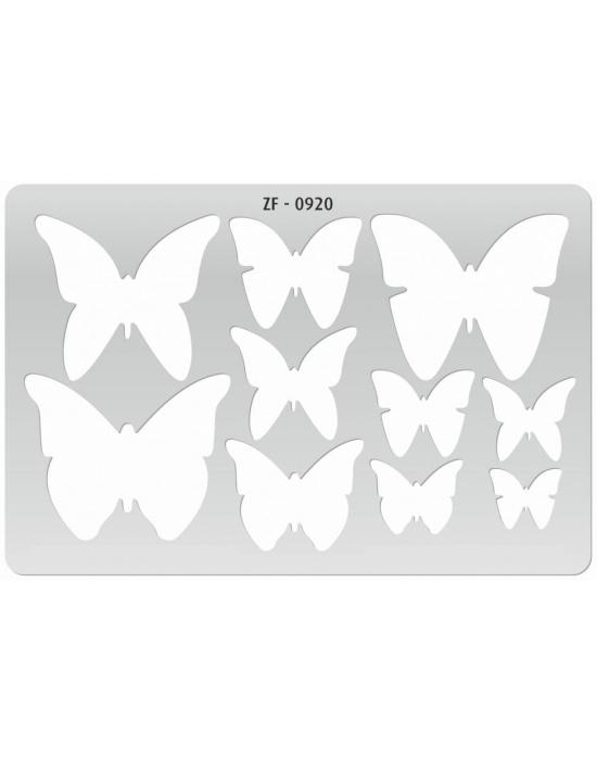 Gabarit de découpe Papillons