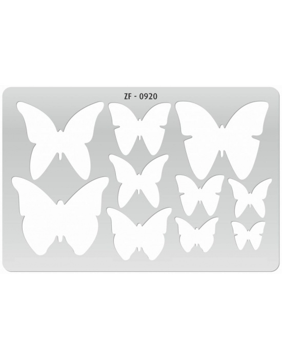 Template Butterflies