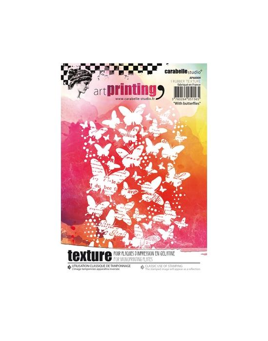 Texture With butterflies