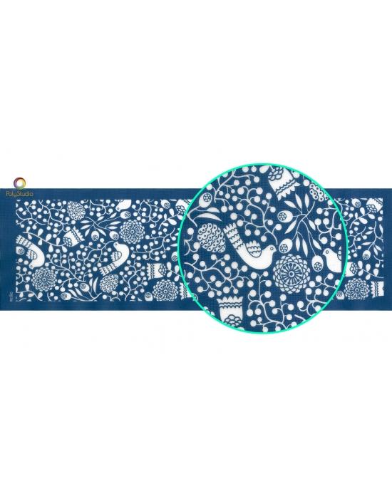 Écran de sérigraphie Moïko bracelet Jardin slave