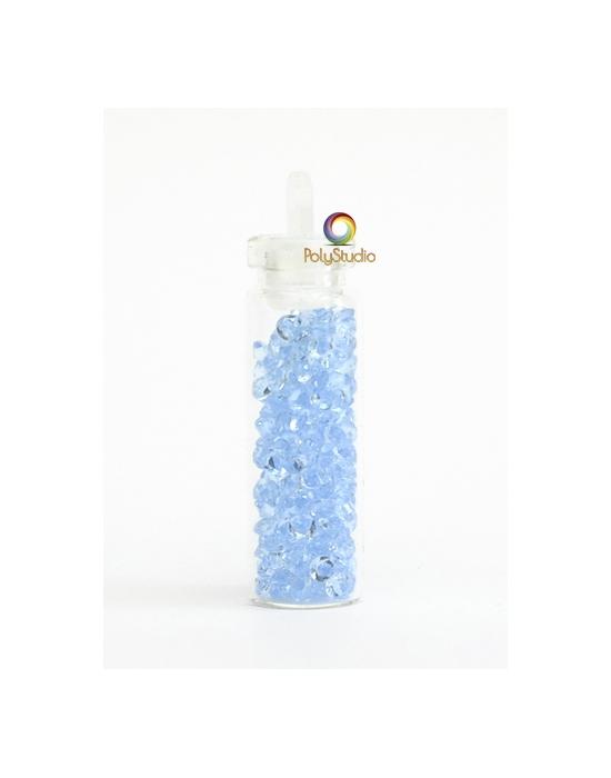 Mini diamants cristal Bleu ciel