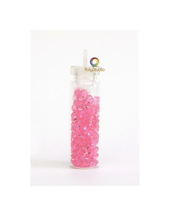 Mini diamants cristal Rose vif