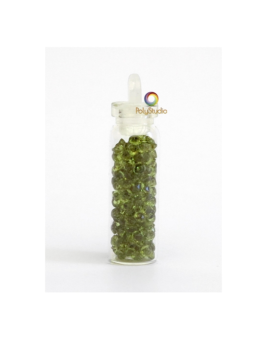 Mini diamants cristal Olive