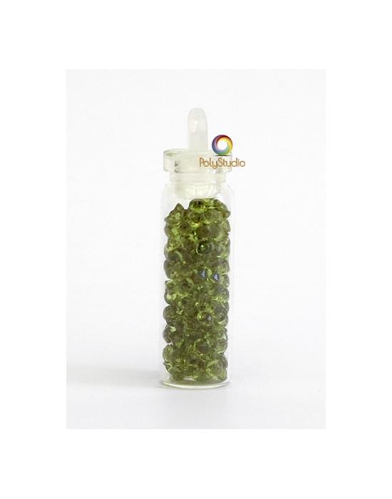 Mini diamants cristal Olive