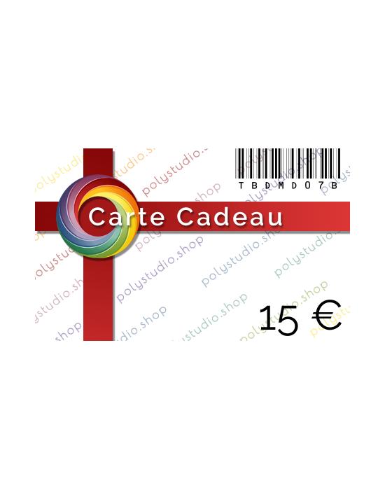 Carte Cadeau PolyStudio 15 €