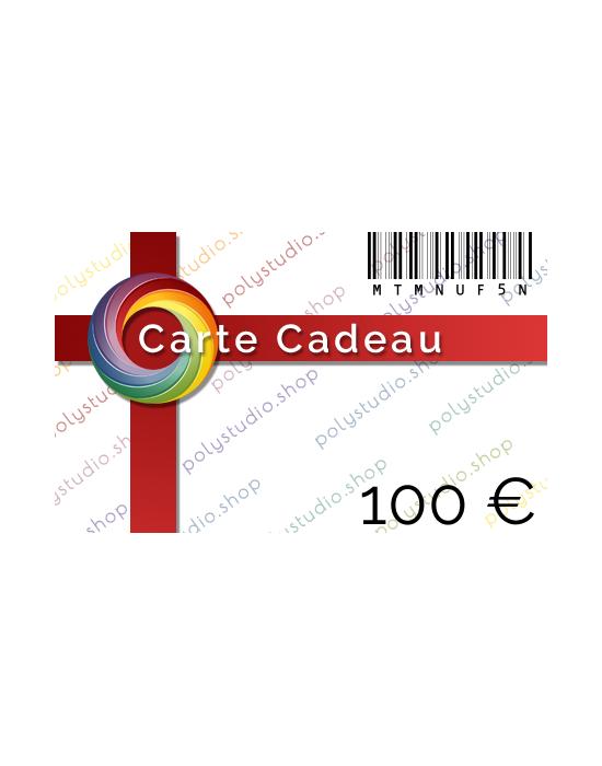 Carte Cadeau PolyStudio 100 €