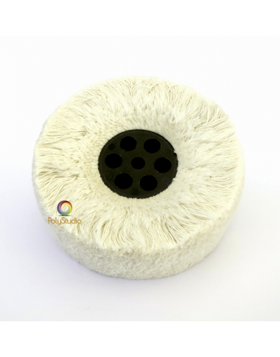 Large Cotton yarn buffing disc