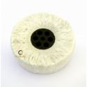 Wide Cotton yarn buffing disc