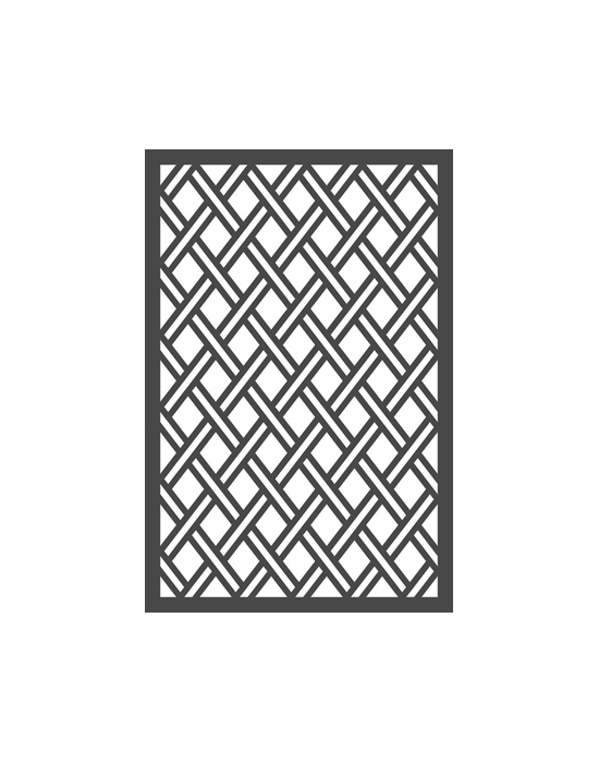 Lattice work Stencil