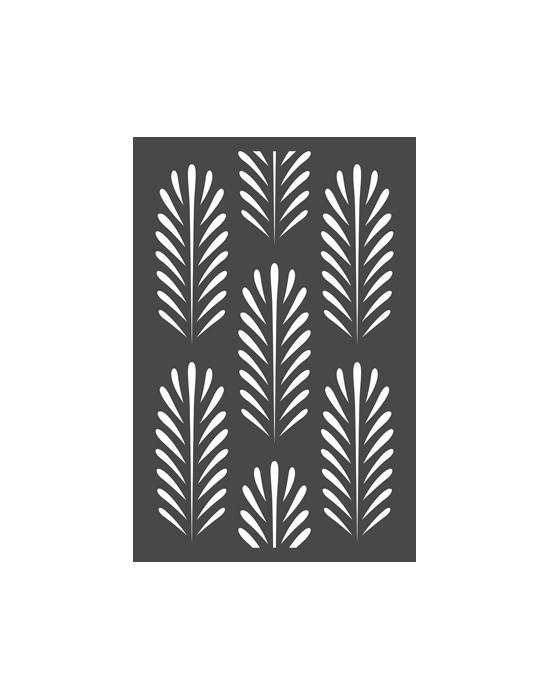 Palm Leaf stencil