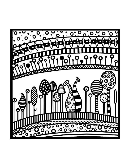 Texture stamps Cernit Harmony