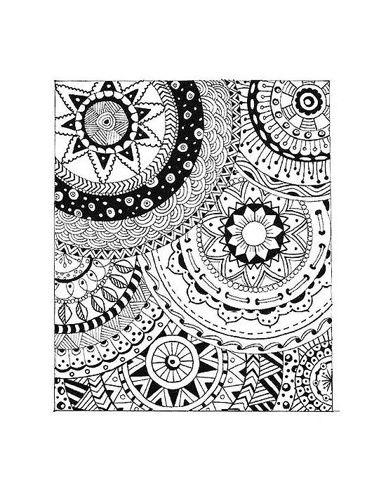 Texture stamps Cernit Stars