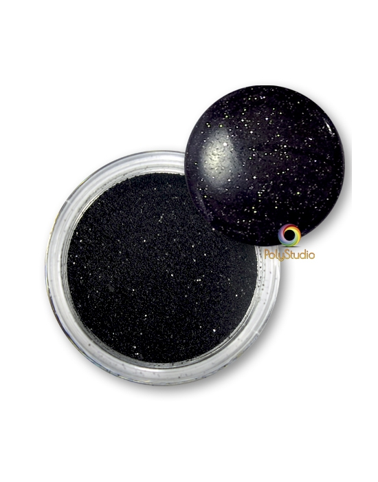 WOW embossing powder Black Glint glitter