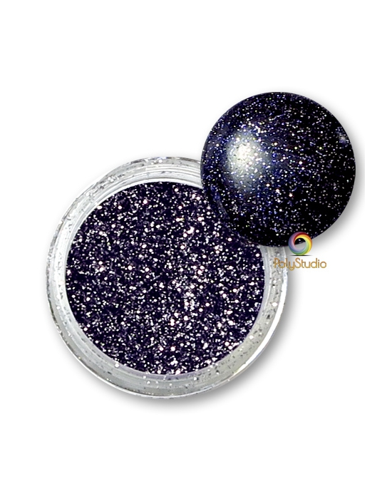 WOW embossing powder Black Twinkle glitter