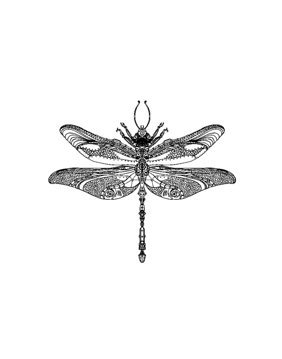 Dragonfly Mini stamp