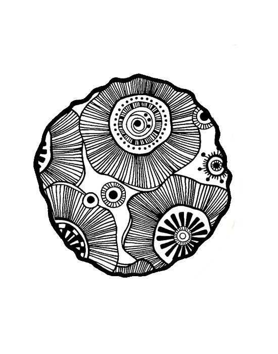 Mini tampon Ombreline Cocarde