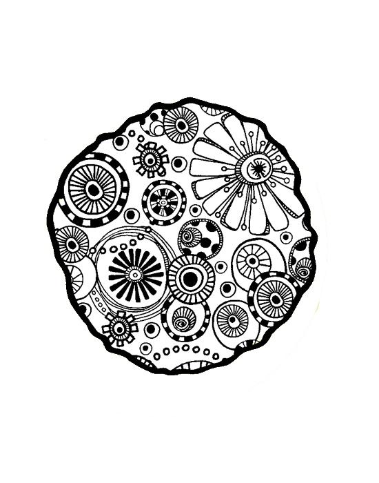 Ombreline Millefiori Mini stamp