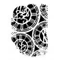 Clocks A7 stamp