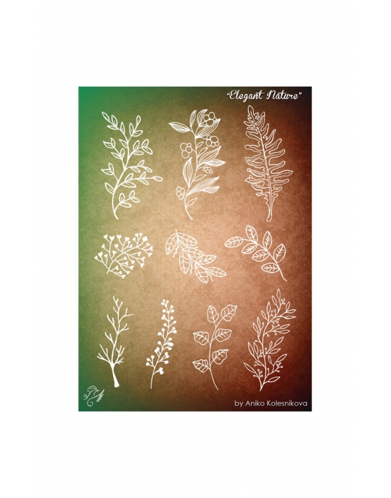 Elegant Nature Texture stamp