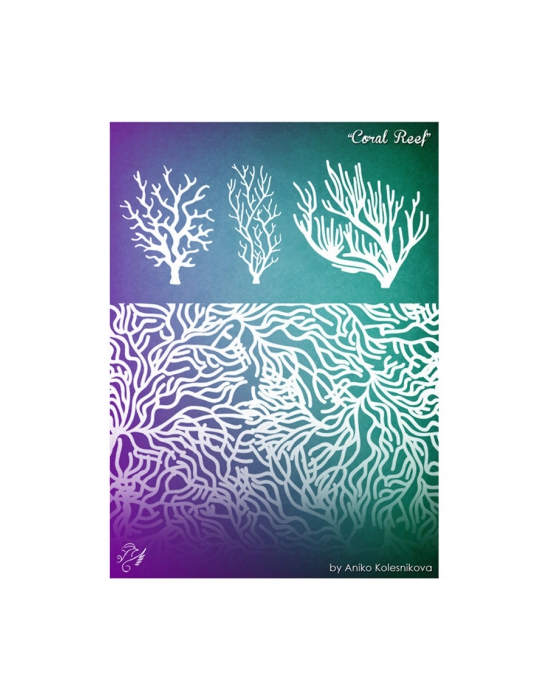 Coral Reef Texture stamp