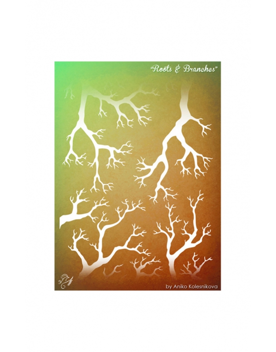 Roots & Branches Texture stamp
