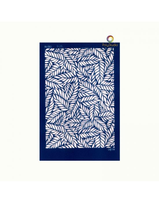 Moïko silk screen Luxuriant
