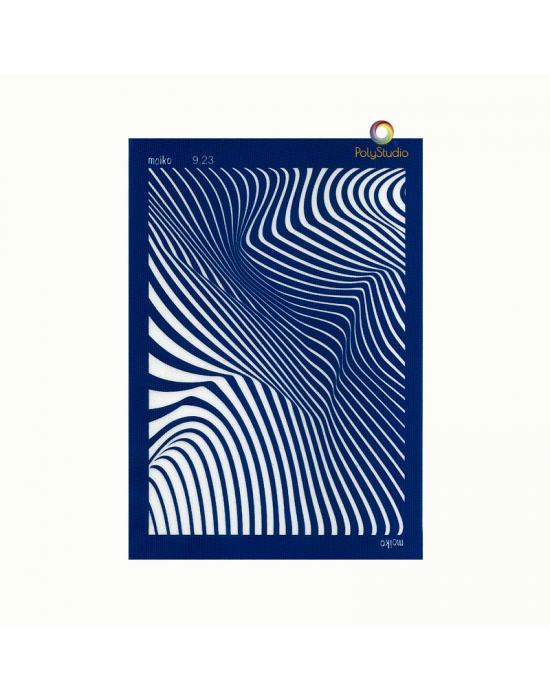 Moïko silk screen Small Zebra
